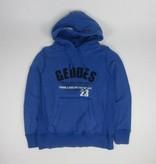 Tientje of minder Blauwe hoodie (M)