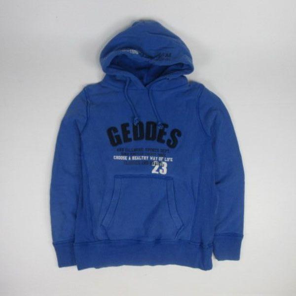Blauwe hoodie (M)