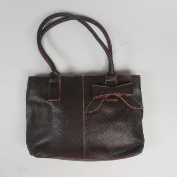 Zwartrode handtas