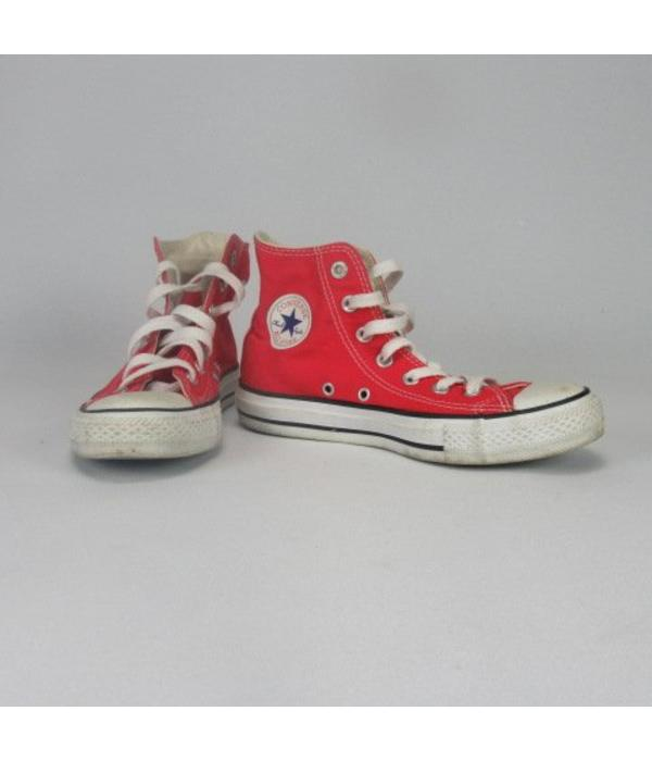 Converse Halflange rode sneakers (36,5)