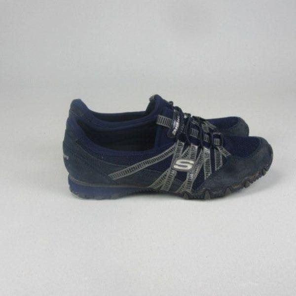 Blauwe sneakers (36)