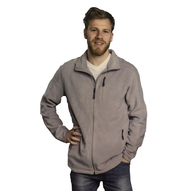 9th Avenue Grijze fleece vest
