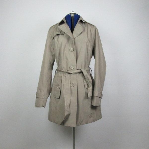 Grijze trenchcoat (L)