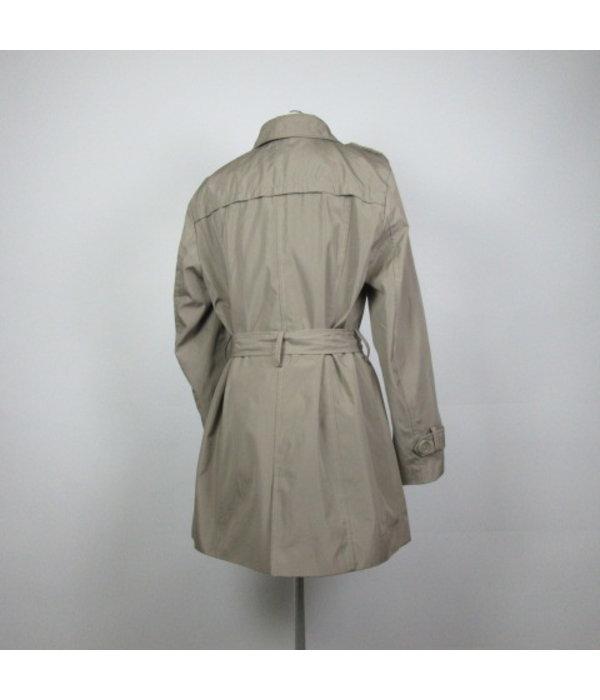 Fransa Grijze trenchcoat (L)