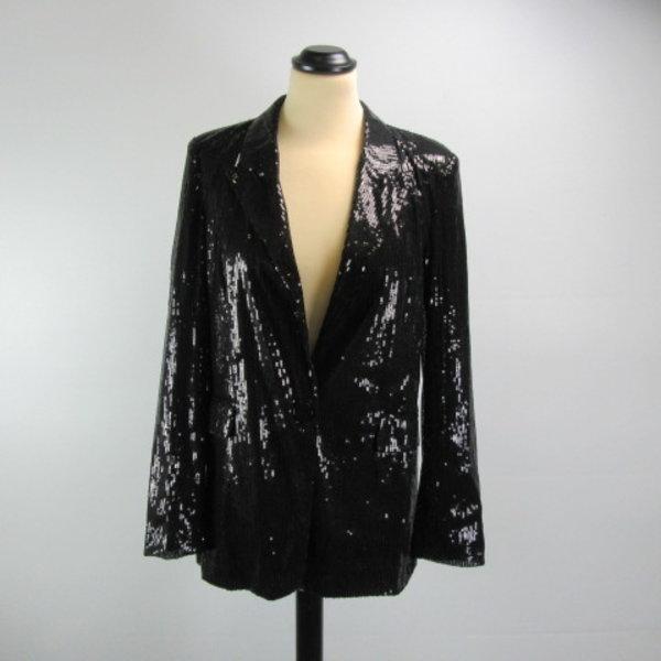 Pailletten vest (M)