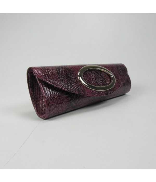 Tientje of minder Paarse Clutch