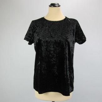 Liz Devy Velvet shirt (L)