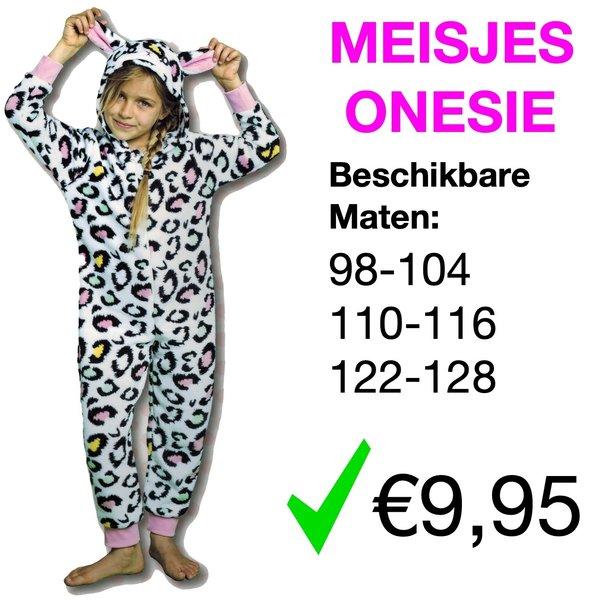 Meisjes Onesie (98 t/m 128)