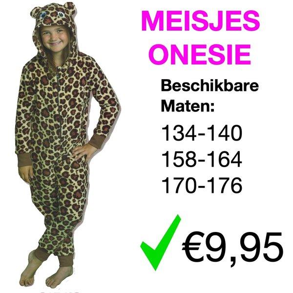 Meisjes Onesie (134 t/m 176)