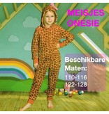 9th Avenue Meisjes Onesie Giraffeprint (110-128)