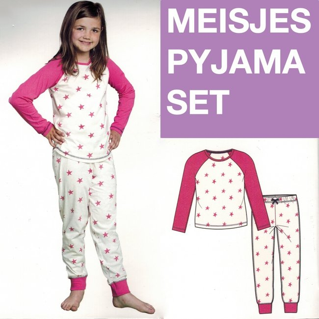9th Avenue Meisjes Pyjama set