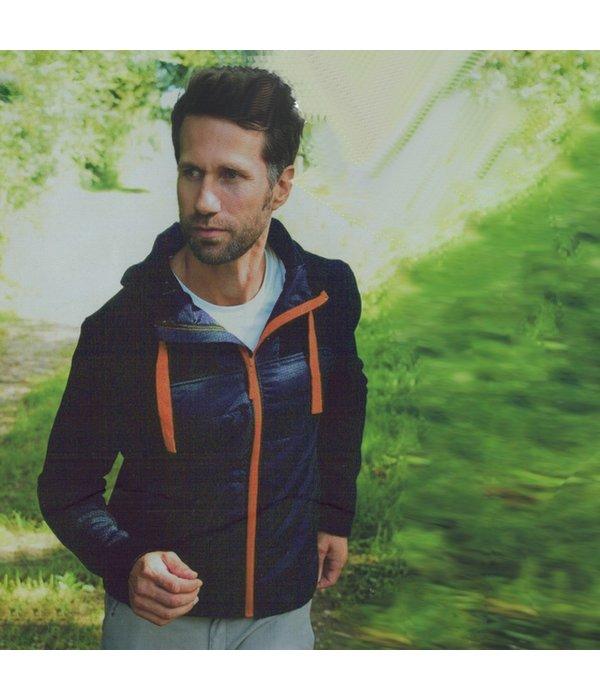 Kaytan sports Outdoor Jacket blauw/oranje