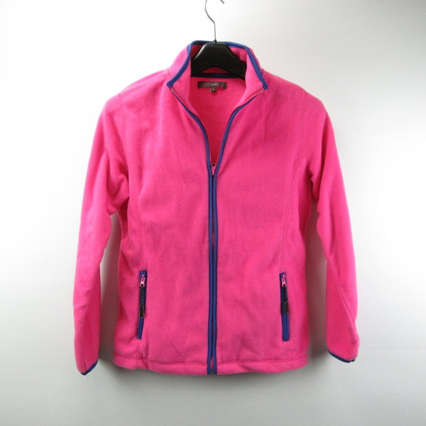 Roze fleece vest (L)
