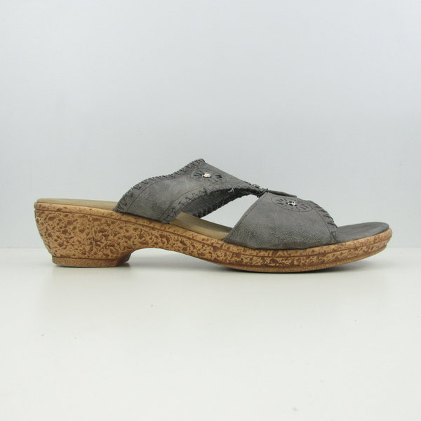 Grijze open sandalen (41)