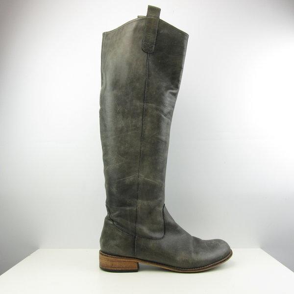 Lange grijsbeige laarzen (39)