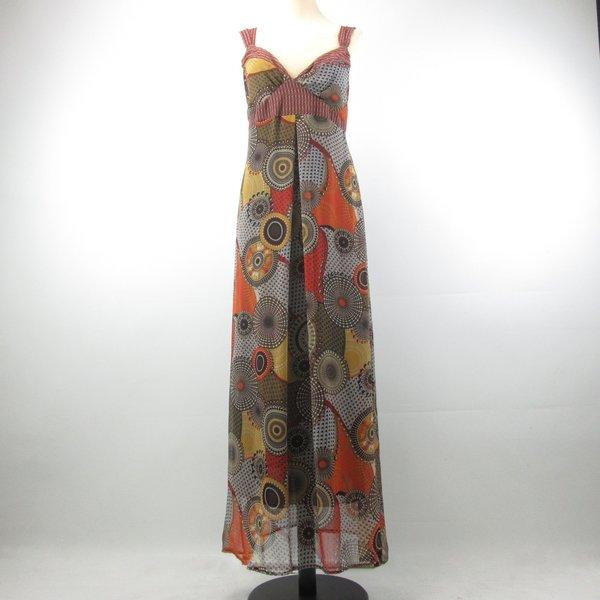 Vintage lange jurk (M/L)