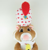Hamster vriendje knuffel