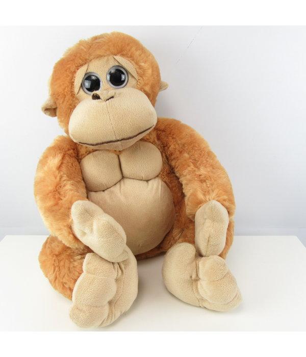 Knuffel aapje met hartje 40CM