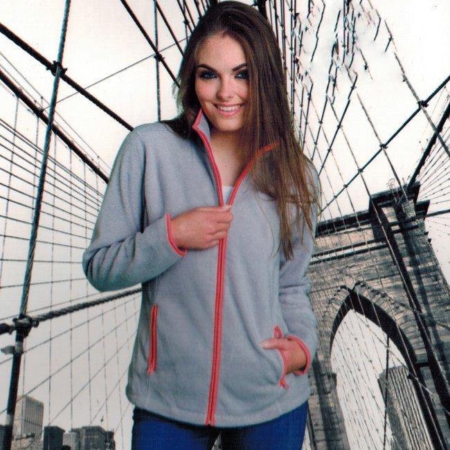 9th Avenue Grijze Ladies Fleece Jacket