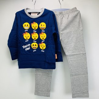 Emoji Kids Pyjama Set (92 t/m 122)