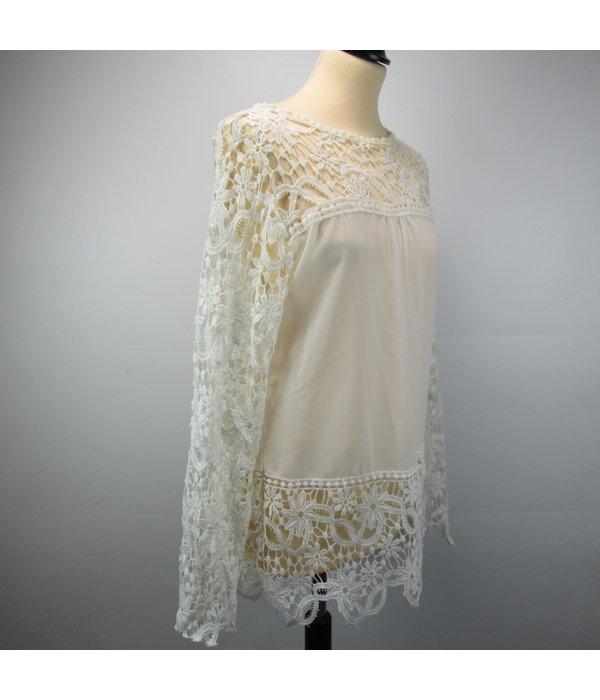 Shirley Doorzichtige blouse (M/L)