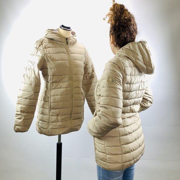 Gewatteerde jas (S, M)
