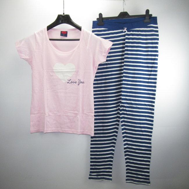 Blauw Roze Pyjama's (S/M/L/XL)