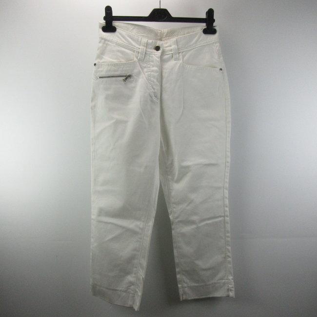 Dolce Vita Witte driekwart broek (36)