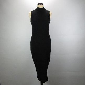 Zara Gebreid Midi jurk (S)