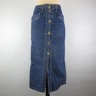 ECCO Vintage lange spijkerrok (36)