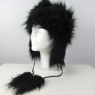 Zwarte muts (M/L)