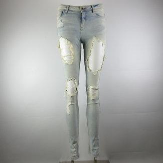 Zara Skinny ripped jeans (36)