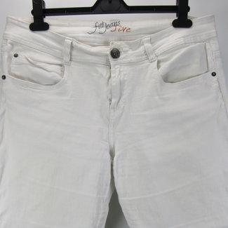 Fit Jeans Witte broek (42)