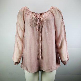 Doorzichtige blouse (L)
