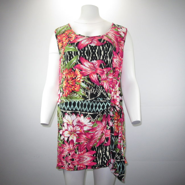 MS Mode Flowery Dress (XL)