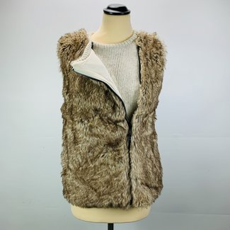 Bershka Faux Fur Gilet (S)