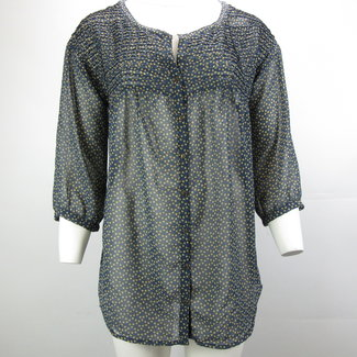 Zara Doorschijnende shirt (M)