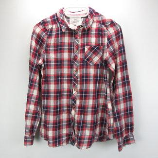 H&M Geruite blouse (152)