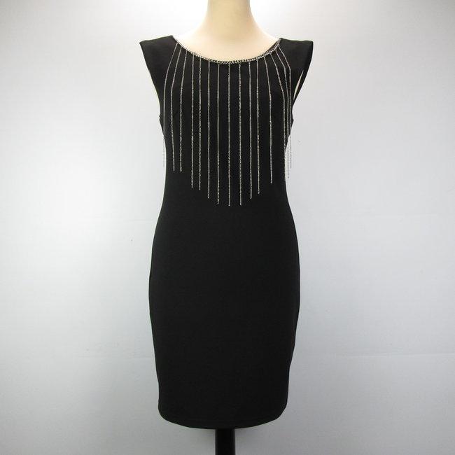 Just Addict Rechtvallene mini-jurk (M)