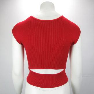 FB Sister Knit crop top (S)