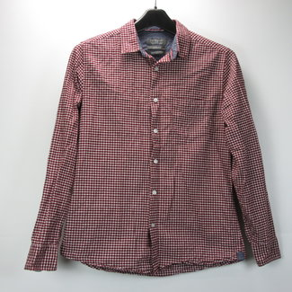 Primark Slim Fit Geruit Overhemd (L)