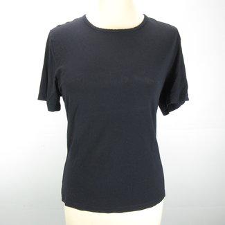 Claudia Sträter Zwart/donkerblauw T-shirt (L)