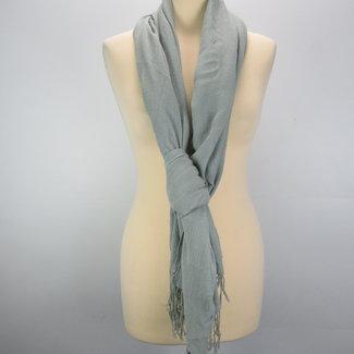 Sjaal in het grijs