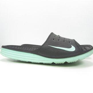 Nike Slippers zwart/groen (39)