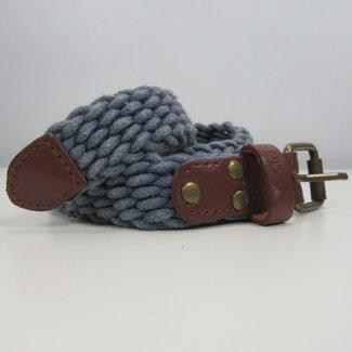 Gevlochten riem (120 cm)