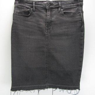 H&M L.O.G.G. Zwarte spijkerrok (38)
