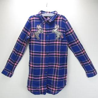 Coolcat Donkerblauwe blouse (134/140)