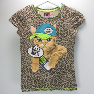 Coolcat Tijgerprint T-shirt (146/152)