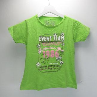 T-shirt in groen (140)