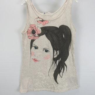 H&M Beige hemd (146/152)